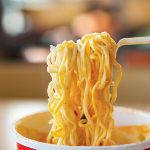 Instant noodles 即食麵